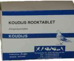 Koudijs Rauchtablette 170g 3Wuerfel