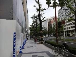 心斎橋御堂筋梅田方面