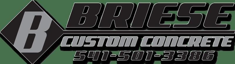 Briese Custom Concrete Logo