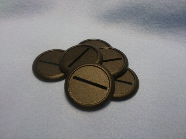 40mm lipped bases