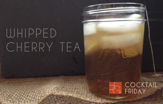 Whipped Cherry Tea