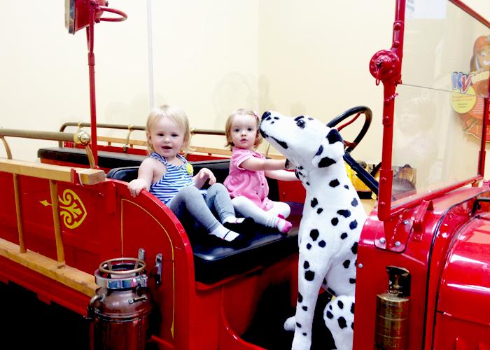 Kid Ventures in 4S Ranch Firetruck
