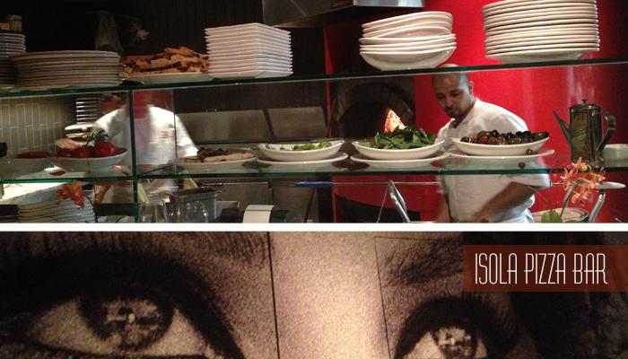 Isola Pizza Bar Decor - Little Italy Dishcrawl