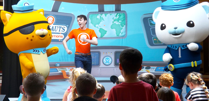 Disney's OCTONAUTS Westfield North County Friday August 30th