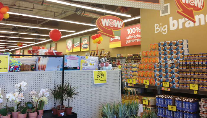 grocery outlet inside
