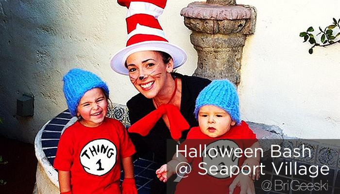 halloween bash at Seaport Village