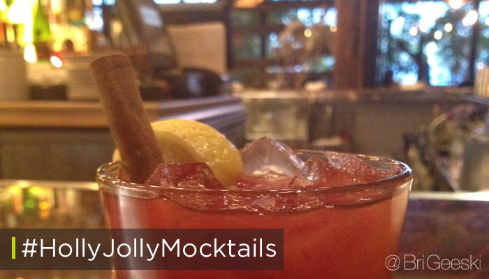 Holly Jolly Mocktails from Searsucker