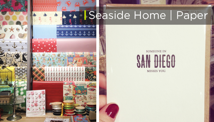 The Headquarters, San Diego - Seaside Home & Paper