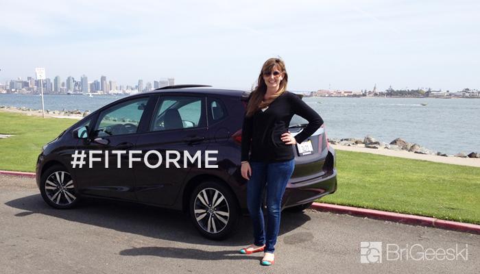 The Honda Fit #FitForYou