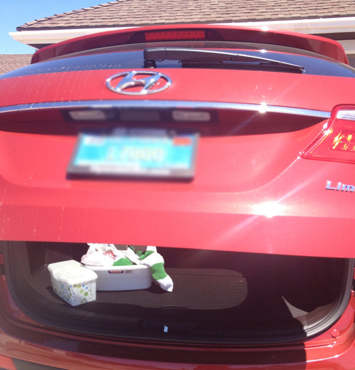 trunk Hyundai Santa Fe