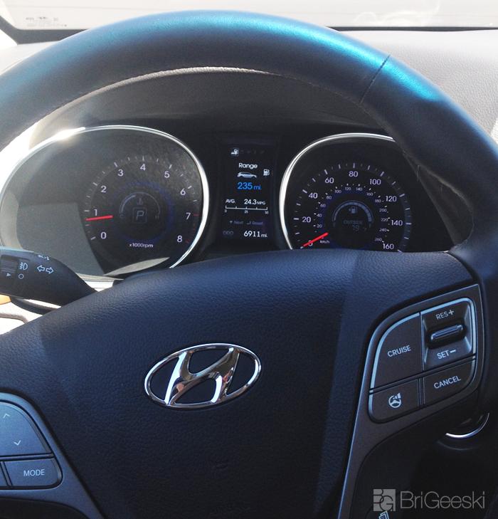 Hyundai Santa Fe wheel