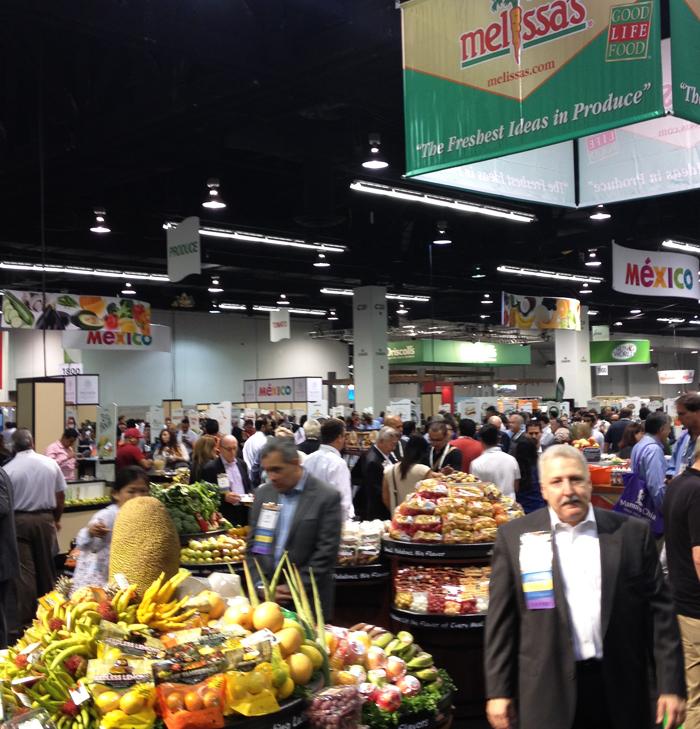 Melissa's Produce Booth at Fresh Summit PMA