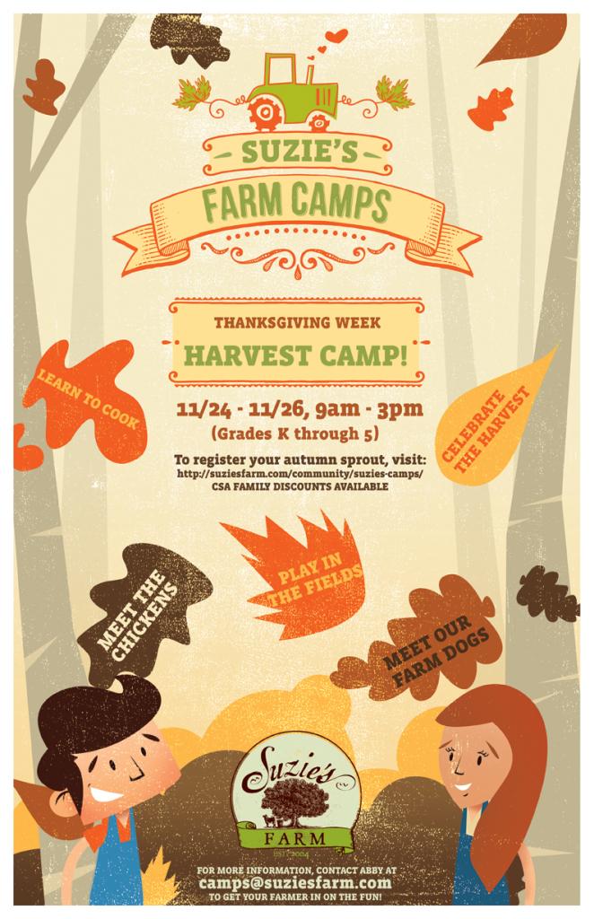 Suzie's Farm Harvest Camp