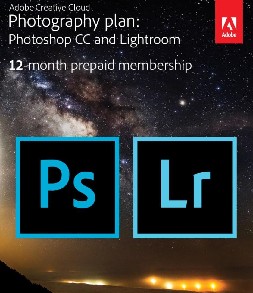 Adobe Creative Cloud Photoshop & Lightroom