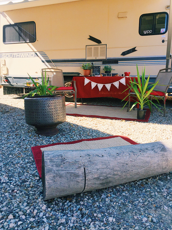 Glamping + Party Tips