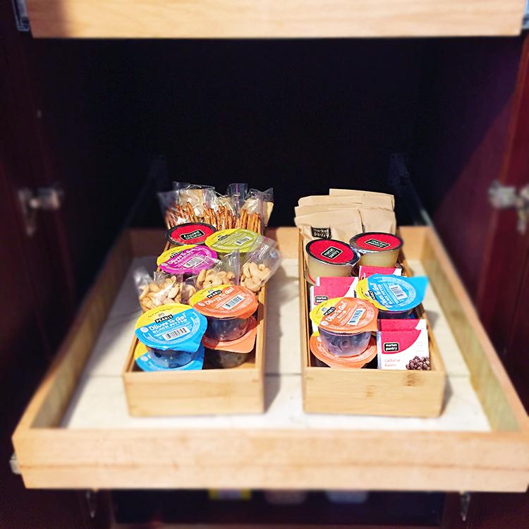 pantry organized