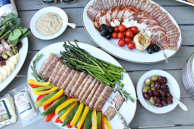 Gather together tonight with a delicious spread!