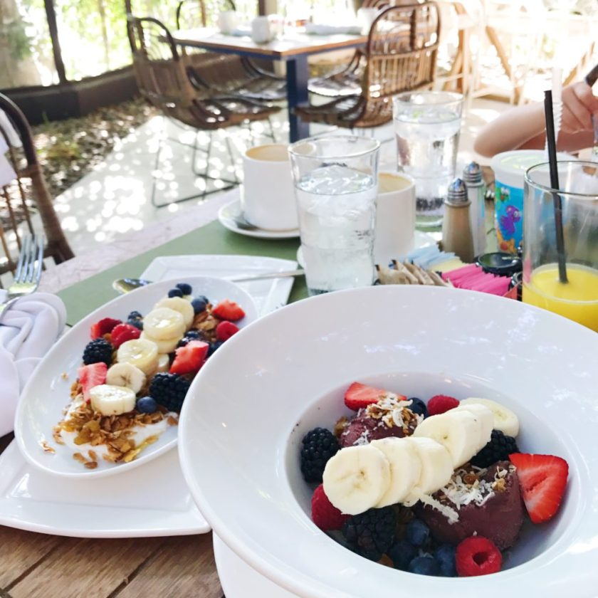 Breakfast at the Riviera