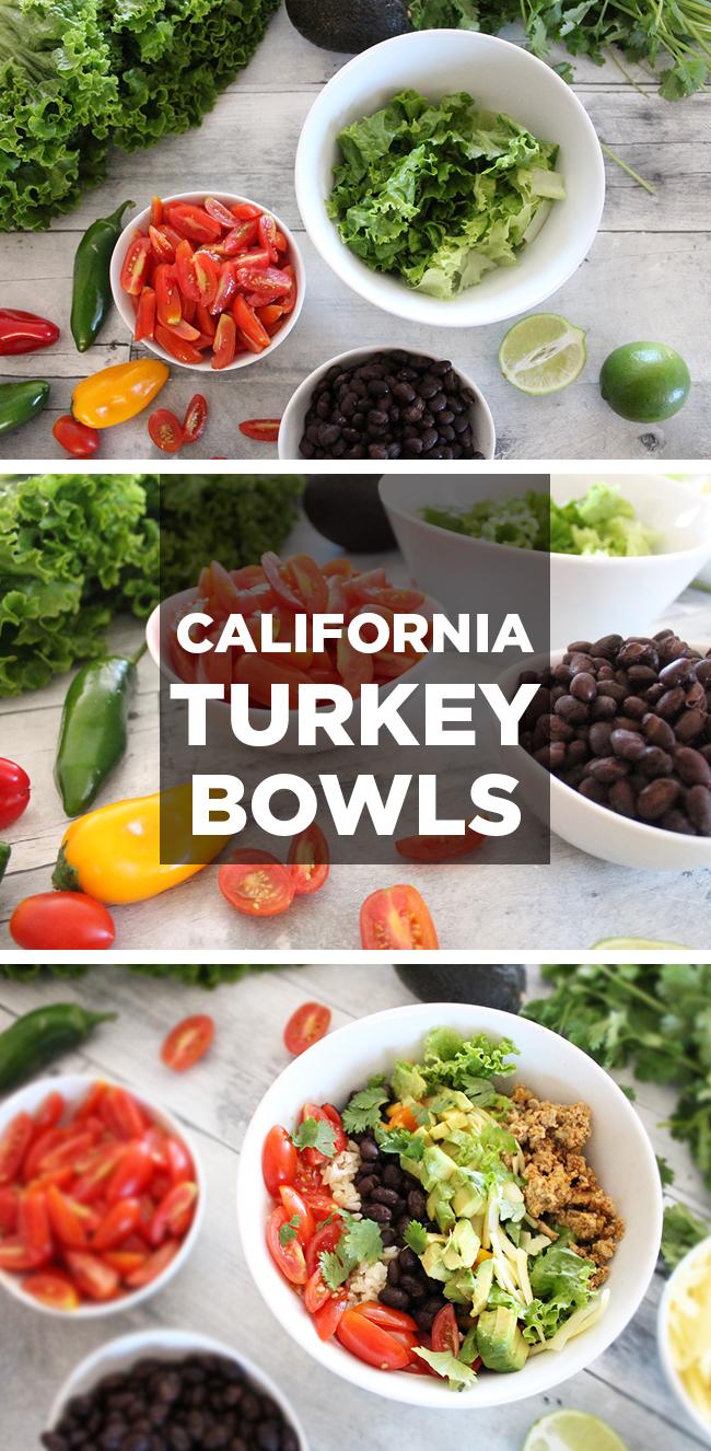 California Turkey Bowls