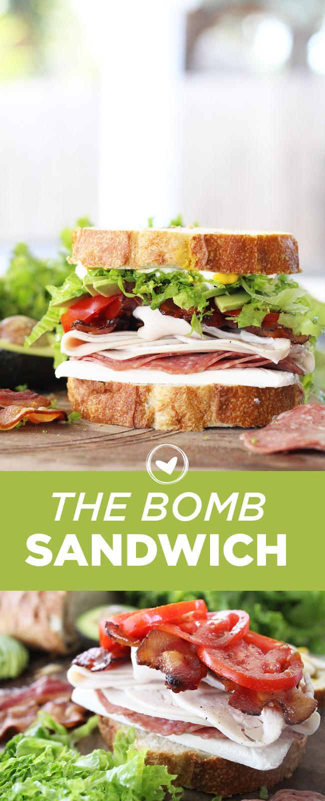 The Bomb Sandwich