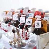 DIY Mini Wine Advent Calendar