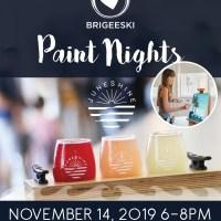 BriGeeski Paint Nights At JuneShine Ranch