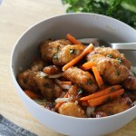 Chicken with Carrots and Kale
