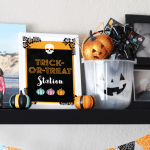 Trick or Treat Station Printables