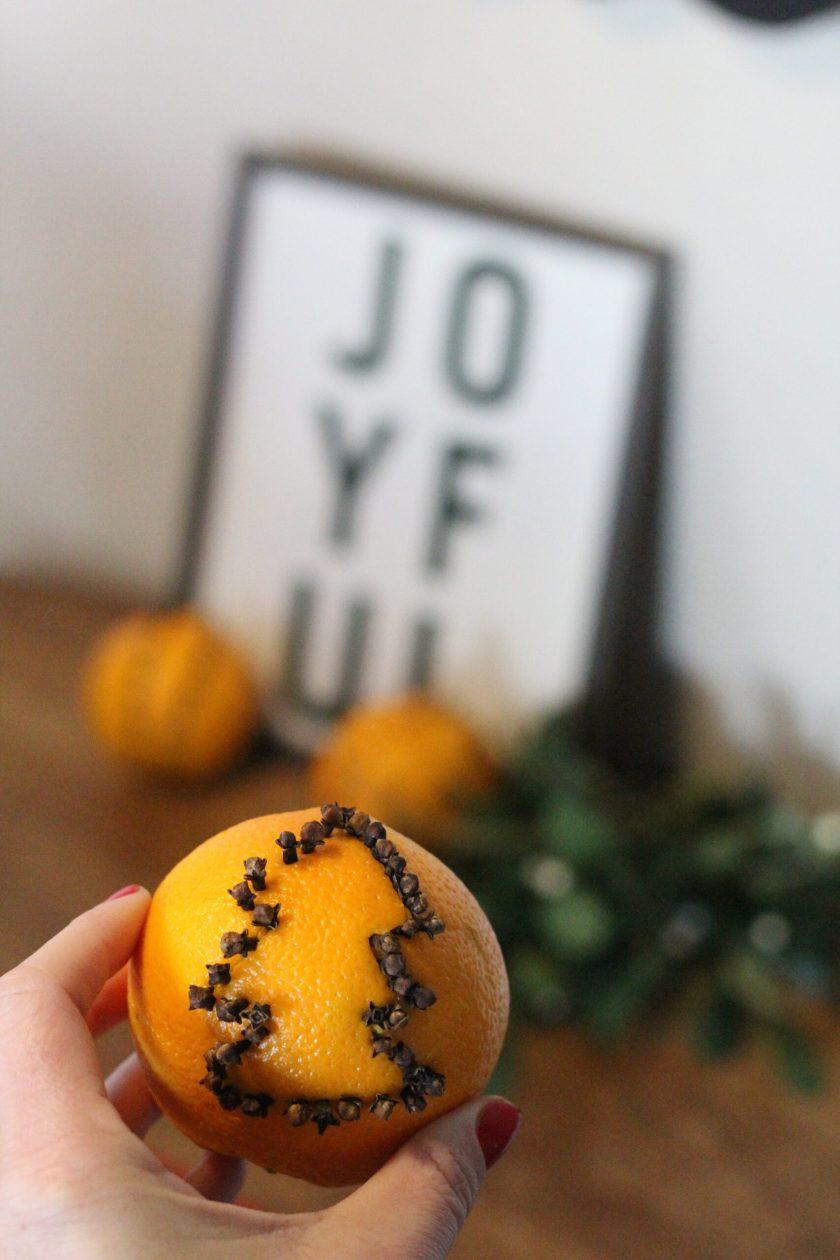 Christmas Tree Orange