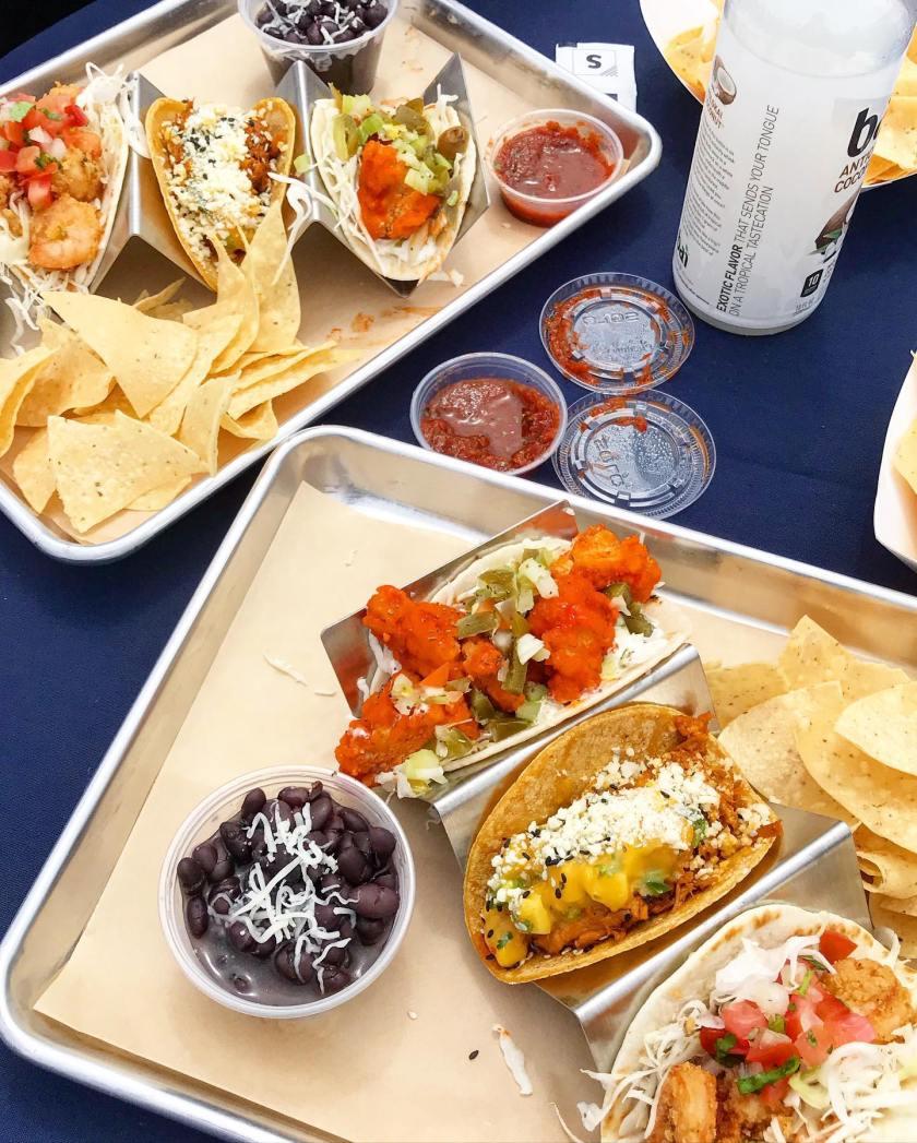 Rubios New Street Tacos with Blais
