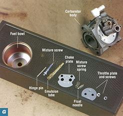 Small Engine Carburetor Rebuild | Briggs & Stratton