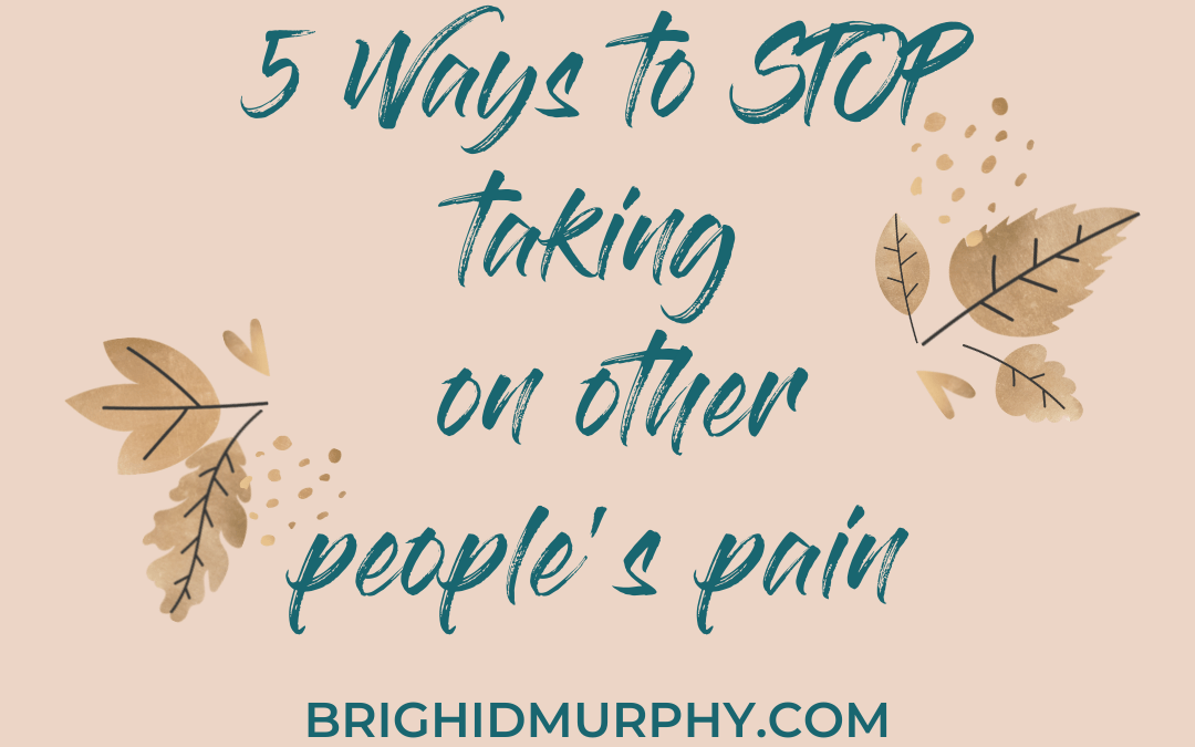 Taking on Other People's Pain: Part Two