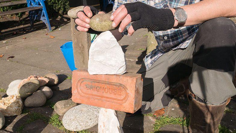 Steve Howarth, Stone Balancing