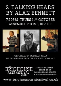 Talking Heads - Alan Bennett @ Assembly Rooms | England | United Kingdom
