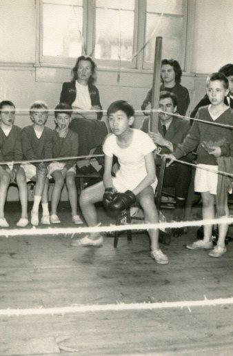 Nobuo – Boxing in 1962 -photo Mr Trebacz