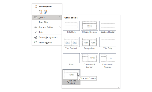 PowerPoint Slide Master Layout anak yatim