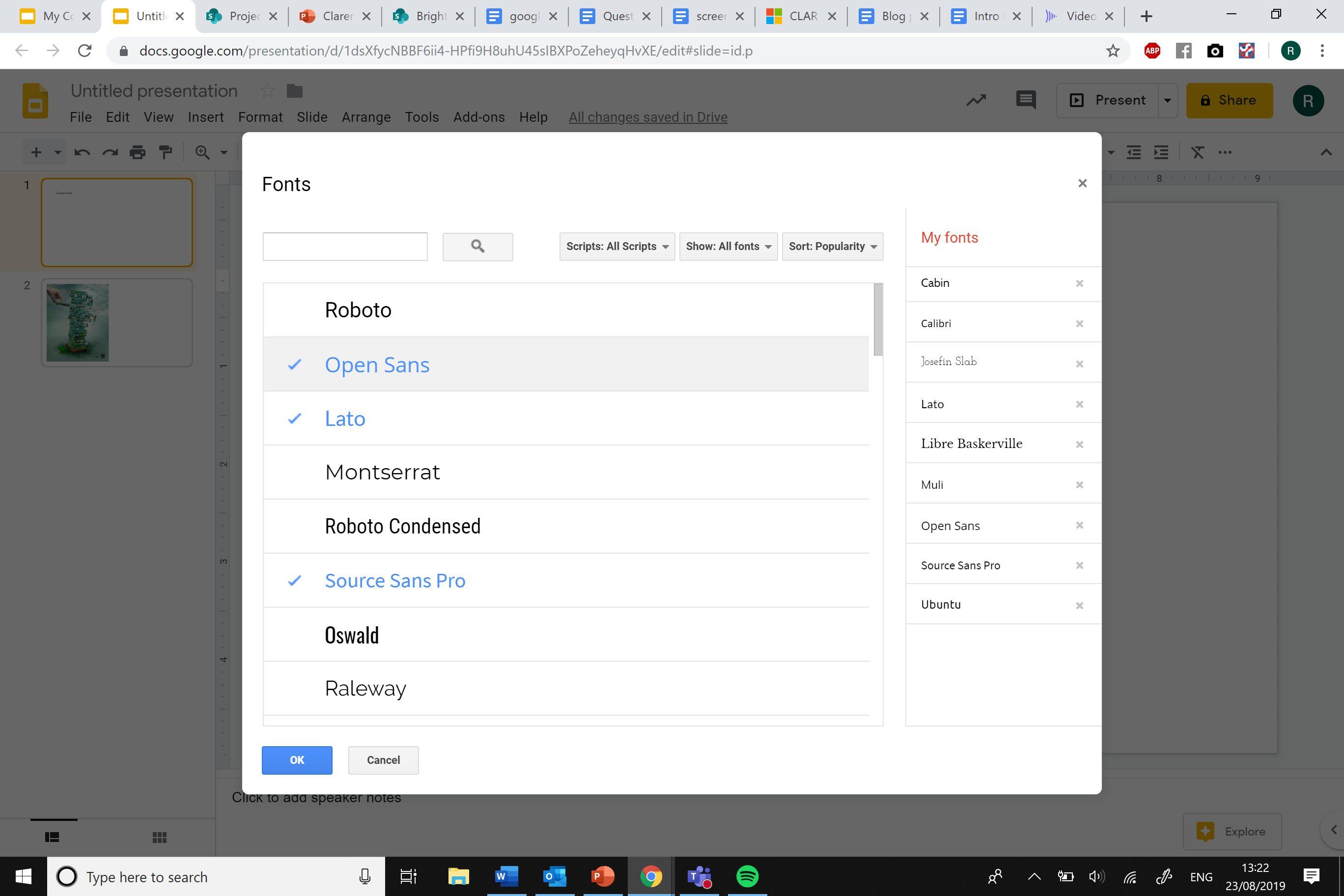 google slides presentation brightcarbon