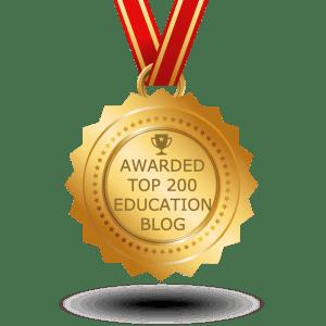 Feedspot 2017 Top 200 Education Blogs Award