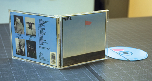 Judging A Cover By It's Cover: Wire