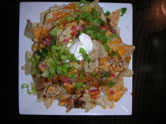 A big-ass plate of nachos