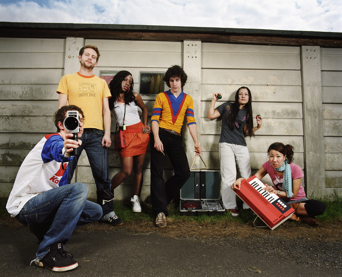 The Go! Team Interview ⋆ BYT // Brightest Young Things