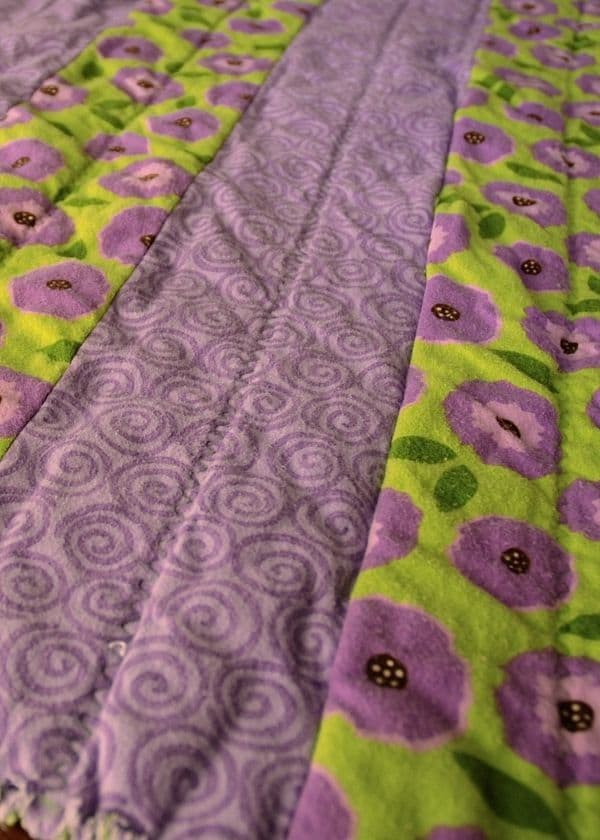 How to Sew a Baby Flannel Rag Quilt
