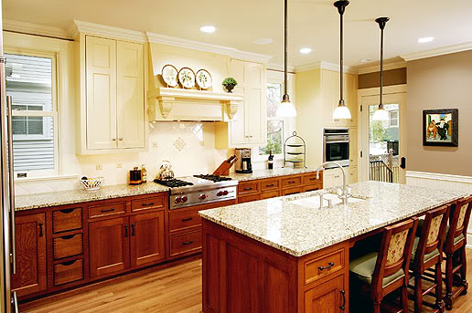 Modern kitchens with unpainted cabinets bright green door Kitchen colors with natural wood cabinets