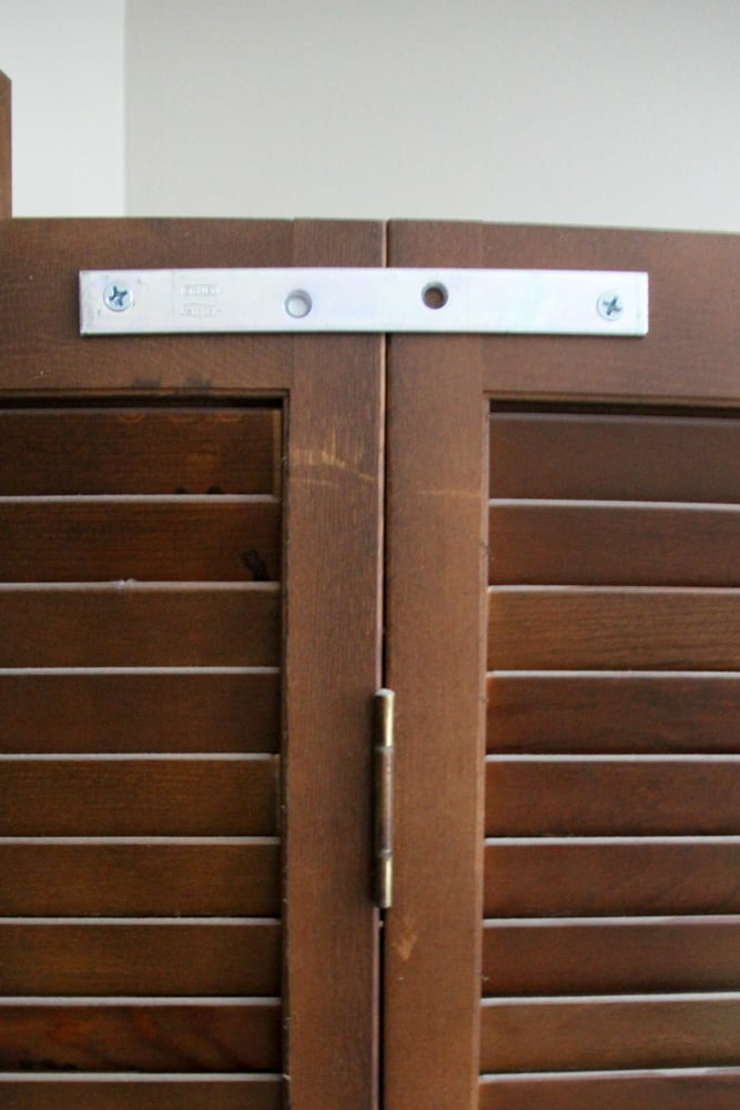 Bracket for French Doors