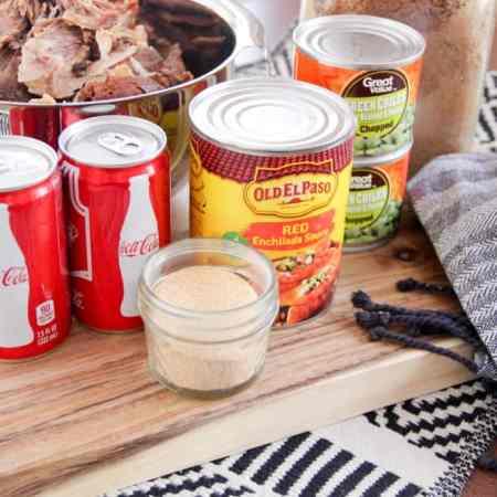 Ingredients for Pork Rio