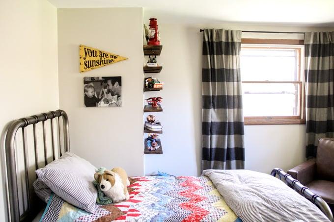 Classic Modern Boys Bedroom