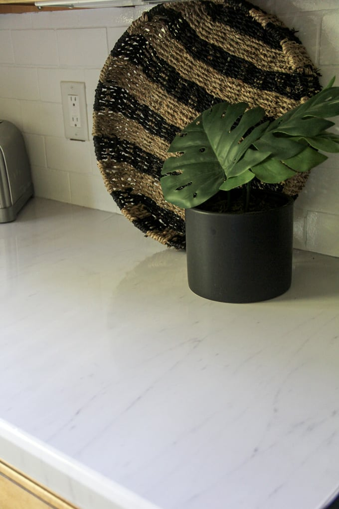 Marble Contact Paper Counters
