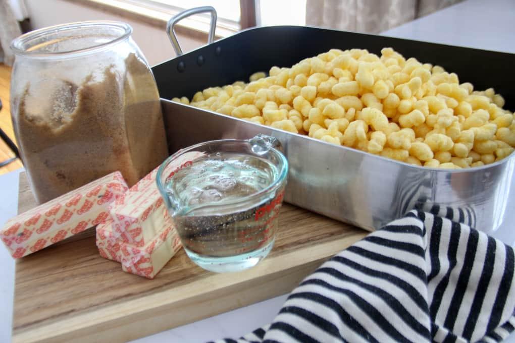 How to Make Puffed Corn Caramel Corn