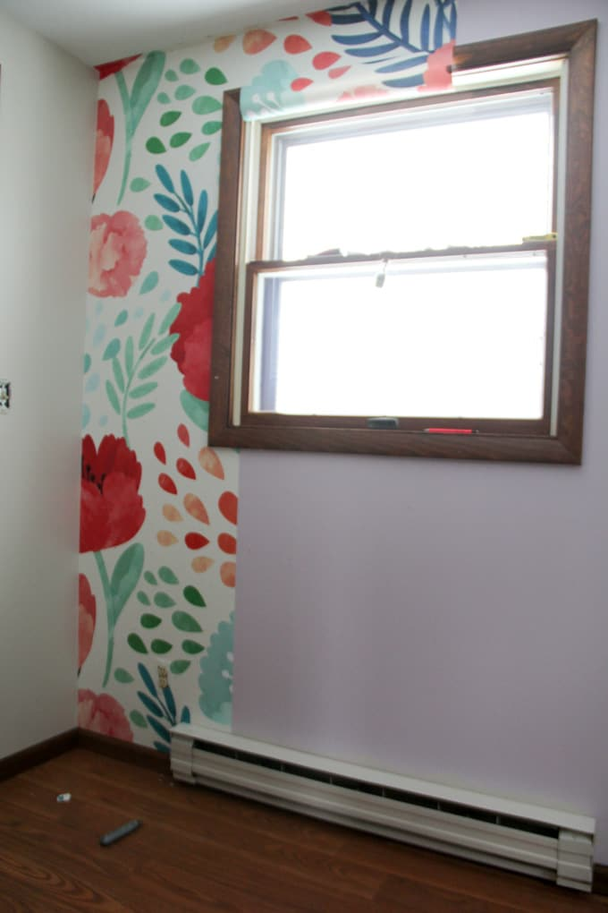 Floral Wallpaper Mural
