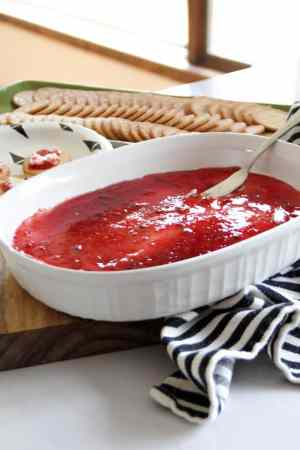 Cream Cheese and Pepper Jelly Dip